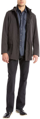 Armani Collezioni Water-Repellent Kaban Jacket