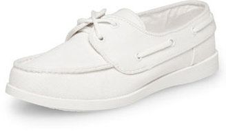 Dorothy Perkins White canvas lace up plimsole