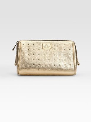 Rebecca Minkoff Made-Up Studded Leather Cosmetic Case