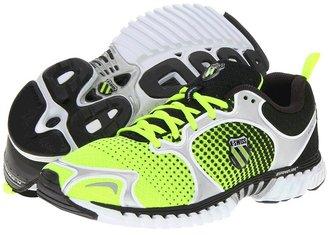 K-Swiss Kwicky Blade-Light Neutral (Neon Citron/Black Dot Fade) - Footwear