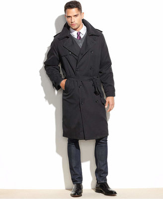 London Fog Iconic Belted Trench Raincoat $450 thestylecure.com