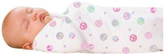 Summer Infant SwaddleMe 3PK Muslin Blankets - Peaceful Garden/Flowers