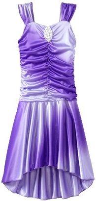 Amy Byer Girls 7-16 Silky Knit Hi Low Dress