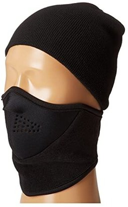 Seirus Neofleece Combo Scarf (Black) Scarves