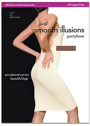 Hanes Smooth Illusions Ultimate Contouring Pantyhose Panty Hose
