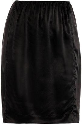 Lanvin Silk slip skirt