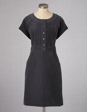 Boden Casual Pintuck Dress