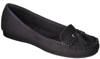 Merona Women's Mabli Moccasin Loafers - Black