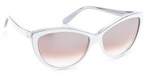 Alexander McQueen Oversized Cat Eye Sunglasses