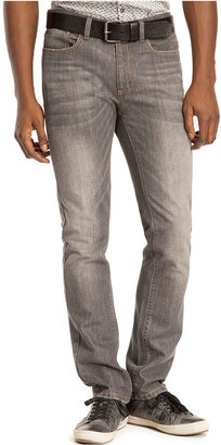 Kenneth Cole Reaction Jeans, Grey Slim Fit Low Rise Jeans