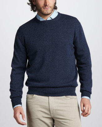 Loro Piana Cashmere Crewneck Sweater