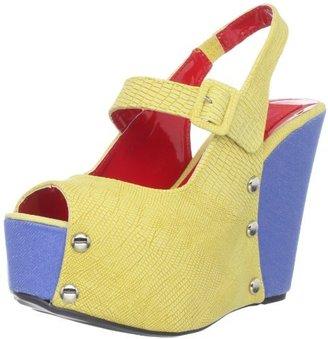 Fahrenheit Women's Mica-02 Wedge Sandal
