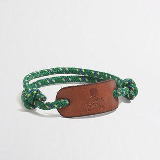 J.Crew Factory Factory boys' skull rope bracelet