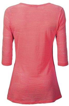 New Balance Anue Chai Burnout Shirt - 3/4 Sleeve (For Women)