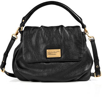 Marc by Marc Jacobs Textured Leather Lil Ukita Tote with Shoulder Strap in Black