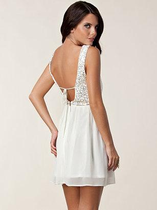 Elise Ryan Melanie Open Back Dress