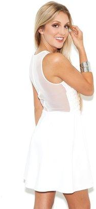 Lulu For Love & Lemons Dress in White Daisy