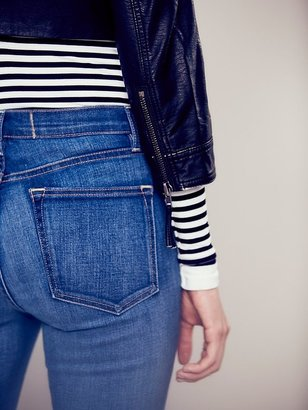 Free People Paisley Roll Cropped Vegan Leather Jacket
