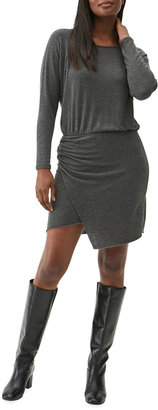 Michael Stars Hally Ruched Side-Wrap Dress