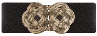 Dorothy Perkins Black chunky knot waist belt