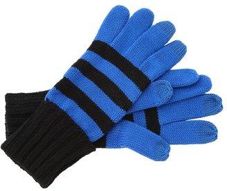 MICHAEL Michael Kors Michael Kors Logo Stripe Group Tech Glove (Blue) - Accessories