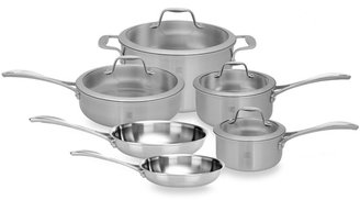 Zwilling J.A. Henckels Spirit 10-Piece Stainless Steel Cookware Set and Open Stock
