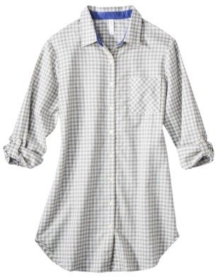 Gilligan & O'Malley® Women's Flannel Print Sleep Shirt - Assorted Colors
