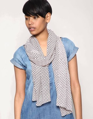 Pieces Small Spot Scarf