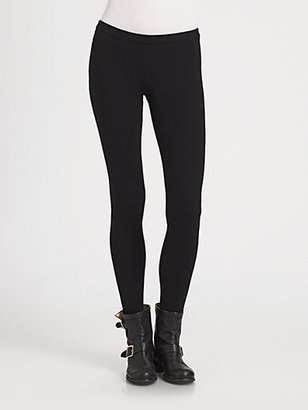 Donna Karan First Layer Cashmere Leggings