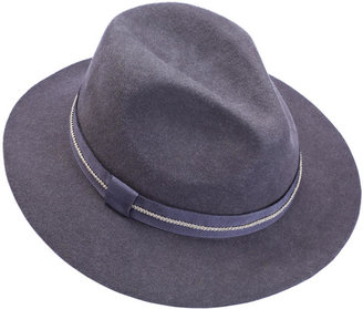 The CHIC'ago Grey Fedora