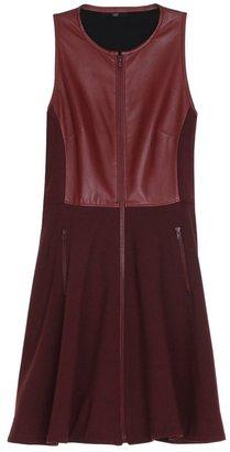 Tibi Leather Sleeveless Dress