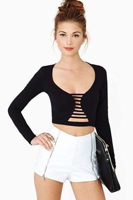 Nasty Gal Wildest Dreams Crop Top