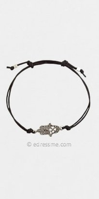 Adrianna Papell Black Cord Charm Bracelets by ZAD