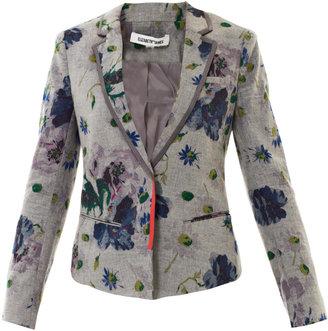 Elizabeth and James Bourne floral flannel jacket