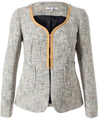 Carven Woven Tweed Jacket