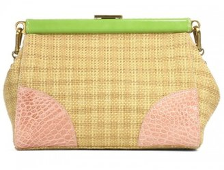 Prada pristine (PR Straw Convertible Bag *Layaway Available*