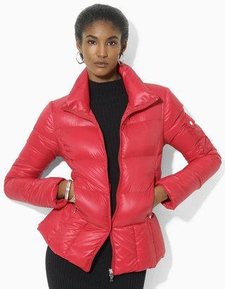 Lauren Ralph Lauren Quilted Microfiber Jacket