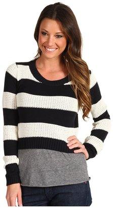 Roxy Newest Leaf Sweater (Acid Yellow) - Apparel