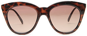 Le Specs The Halfmoon Magic Sunglasses in Tortoise