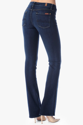 7 For All Mankind Slim Illusion Kimmie Contour Bootcut In Merci Blue