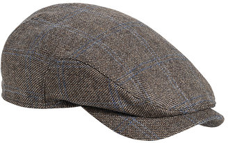 Johnston & Murphy Driving Cap With Earflaps