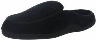 Isotoner Men's Terry Slip On Clog Slipper with Memory Foam for Indoor/Outdoor Comfort