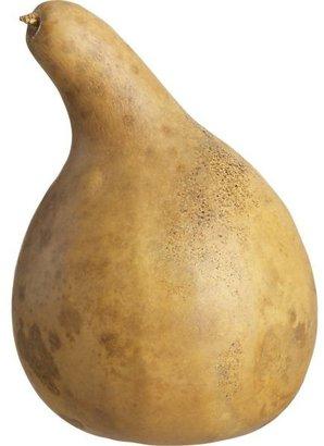 Crate & Barrel Natural Gourd.