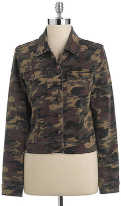 KUT from the Kloth LAST STOP! Camouflage Denim Jacket