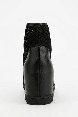 Urban Outfitters Deena & Ozzy Mesh Hidden Wedge High-Top Sneaker