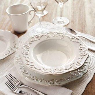 Sur La Table Baroque 16-Piece Dinnerware Set