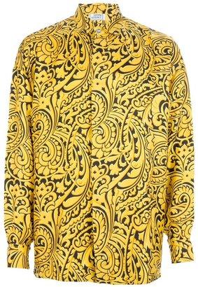 Versace Gianni Vintage baroque print shirt