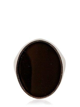 Maison Martin Margiela Profile Round Brass Ring