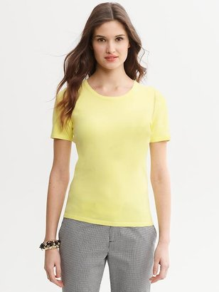 Banana Republic Mad Men® Collection Crew-Neck Top