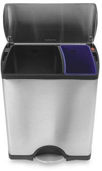 Simplehuman Deluxe Rectangular Recycler Can